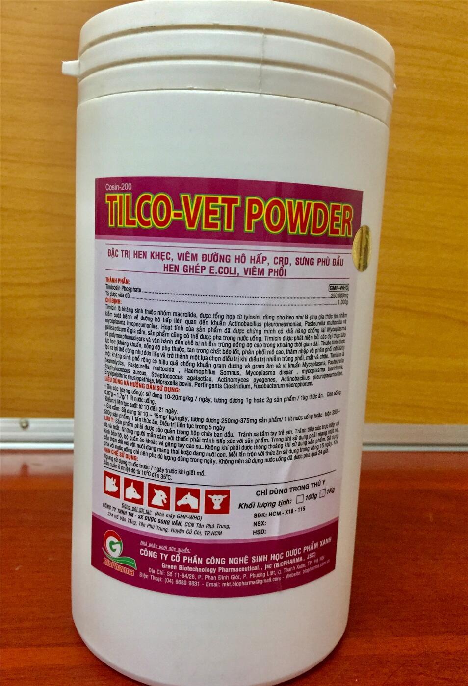 TILCO-VET POWDER