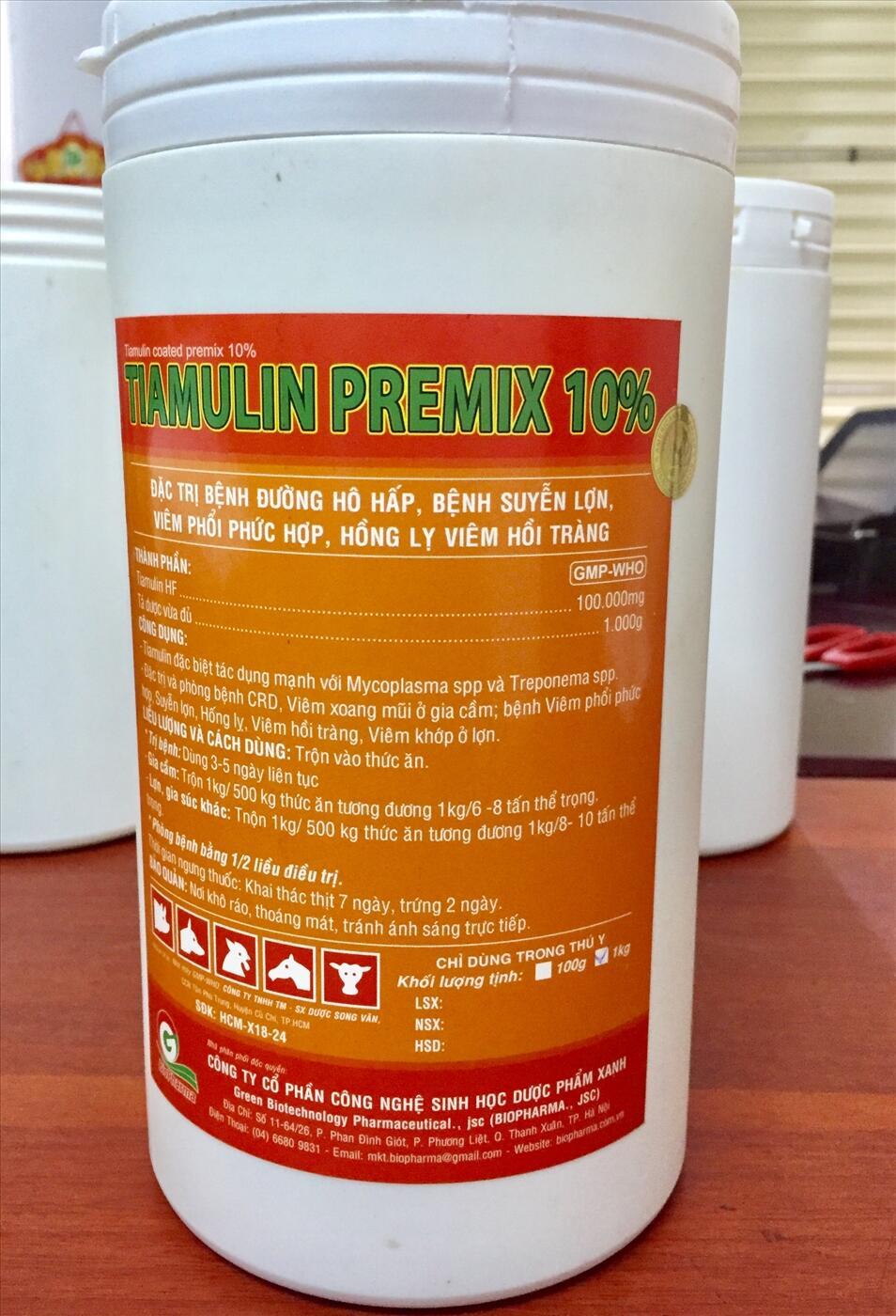 TIAMULIN PREMIX 10%