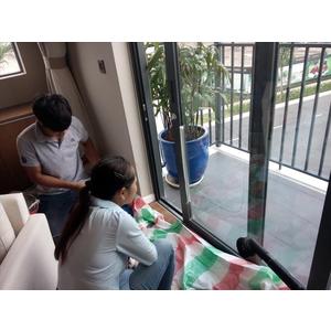 Phục hồi hệ thống cửa kính tại Biệt thự Nine South Estates VinaCapital