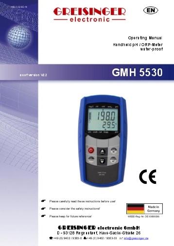 Greisinger Electronic Vietnam, GMH 5430, GMH 3511, GTH 175 PT-G, bộ phát tín hiệu Greisinger