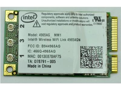 Card wifi laptop Intel 4965AGN