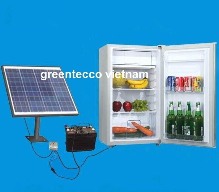 Tủ mát năng lượng mặt trời Greentecco