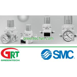 Vacuum regulator -100 ... -1.3 kPa, ø 6 - 3/8   IRV series   SMC Vietnam   SMC Thiết bị