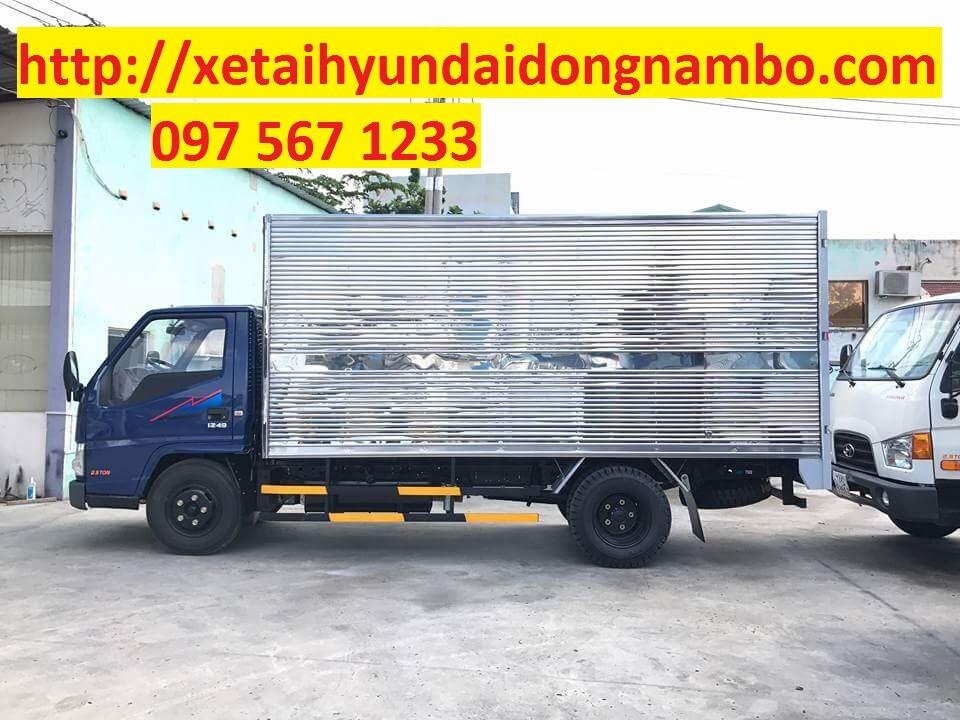 xe tải iz49 thùng kín