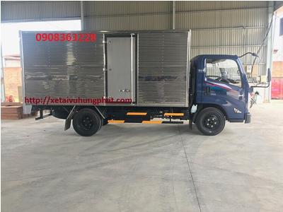 Xe tải IZ65 GOLD ERO4 NEW 2021Thùng kín INOX