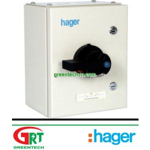 Hager JAB303 Enclosed Switch Disconnector TPN 32A | Tủ điện đóng ngắt Hager JAB303 | Hager Vietnam