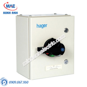 Cầu dao cách ly Hager (isolator) - Model JAG340S-IP55