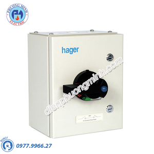 Cầu dao cách ly Hager (isolator) - Model JG380S-IP65
