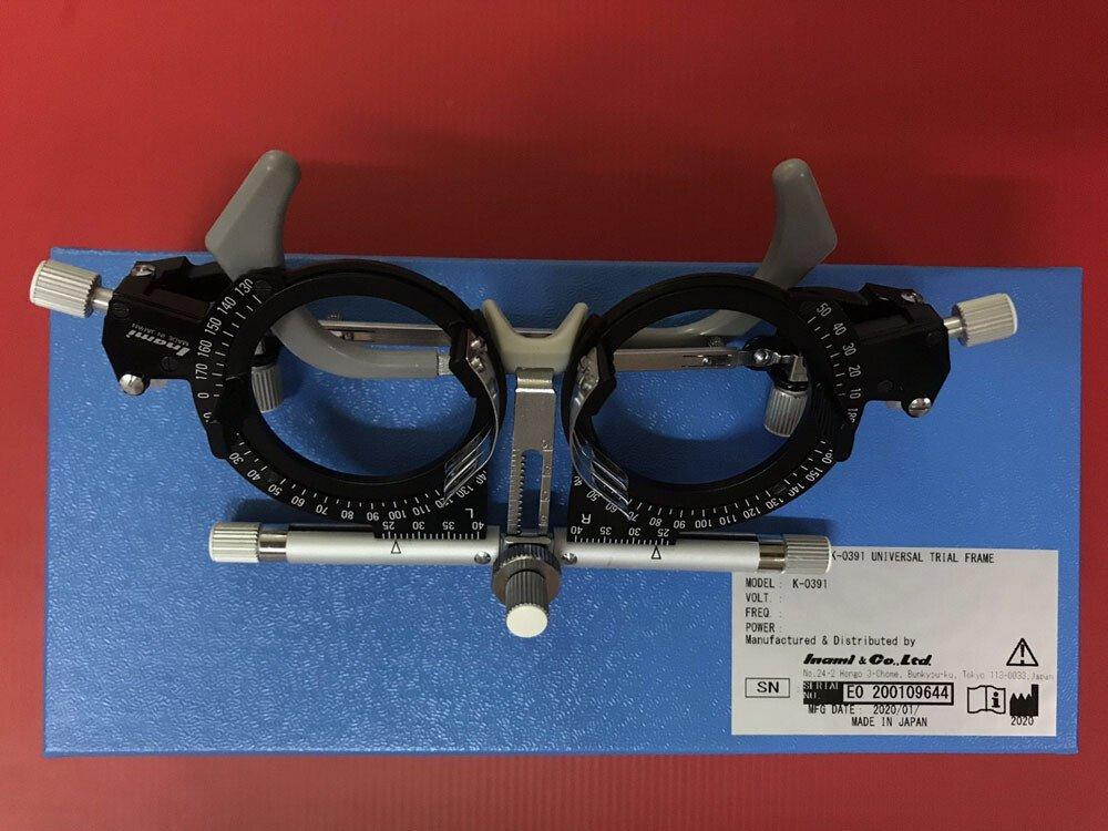 Bộ kính thử thị lực Inami K-350A và gọng kính K-0391