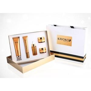 Bộ mỹ phẩm KAYOKO Gold Plus (5in1) New cao cấp, đặc trị nám, tàn nhang và làm trắng da Nhật Bản