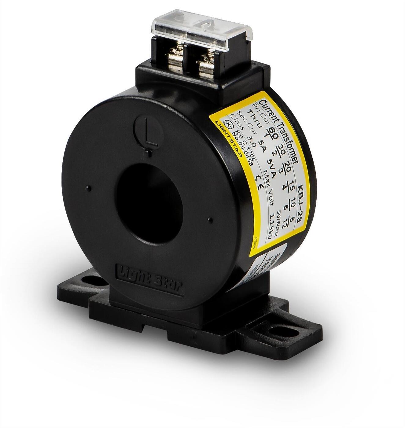 Biến dòng đo lường KBJ-23 (75/5A,100/5A,120/5A,200/5A,250/5A,300/5A)