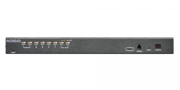 Rack Mount 8 port USB CAT5 KVM Switch - KC2108