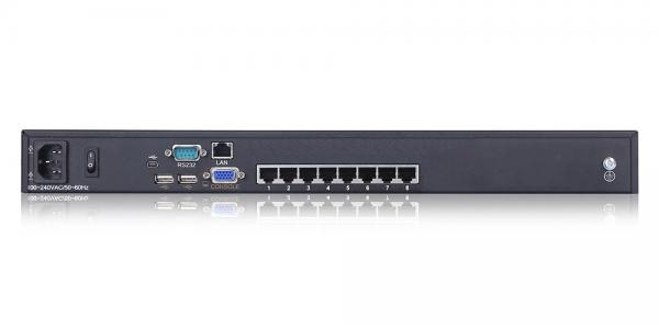 8 port USB CAT5 KVM over IP Switch - KC2108i