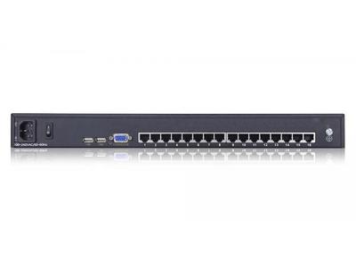 Rack Mount 16 port USB CAT5 KVM Switch - KC2116