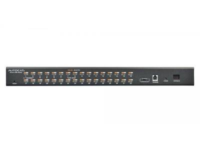 Rack Mount 32 port USB CAT5 KVM Switch - KC2132