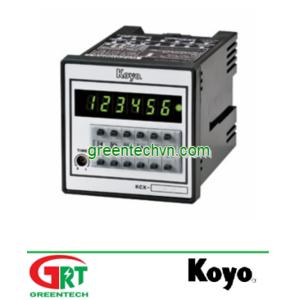 KCX-M,D,DM | Preset Counter | Bộ đếm đặt trước | Koyo