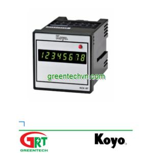 KCX-T | Preset Counter | Bộ đếm đặt trước | Koyo