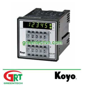 KCX-W,WM | Preset Counter | Bộ đếm đặt trước | Koyo