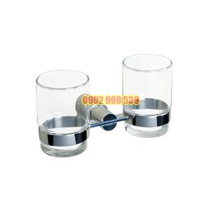 KỆ LY ĐÔI INOX 304 - KL07