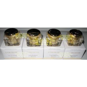 Kem chứa vàng 14k trị lão hóa nám trắng da Dior L'or De Vie La Crème Riche 5ml - 0933555070