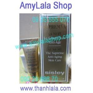 Kem đêm Sisley The Supreme Anti-Aging trị lão hóa trị nám cực nhanh 2ml - 0902966670 - 0933555070