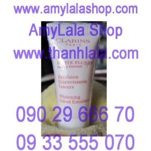 Kem dưỡng trắng da Clarins Whitening Velvet Emulsion 5ml - 0933555070 - 0902966670
