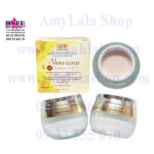 Kem mặt (60g) hạt vàng 24k Dop Lascad® Nano Gold Glutathione 9in1 siêu trắng cao cấp - 0933555070 -