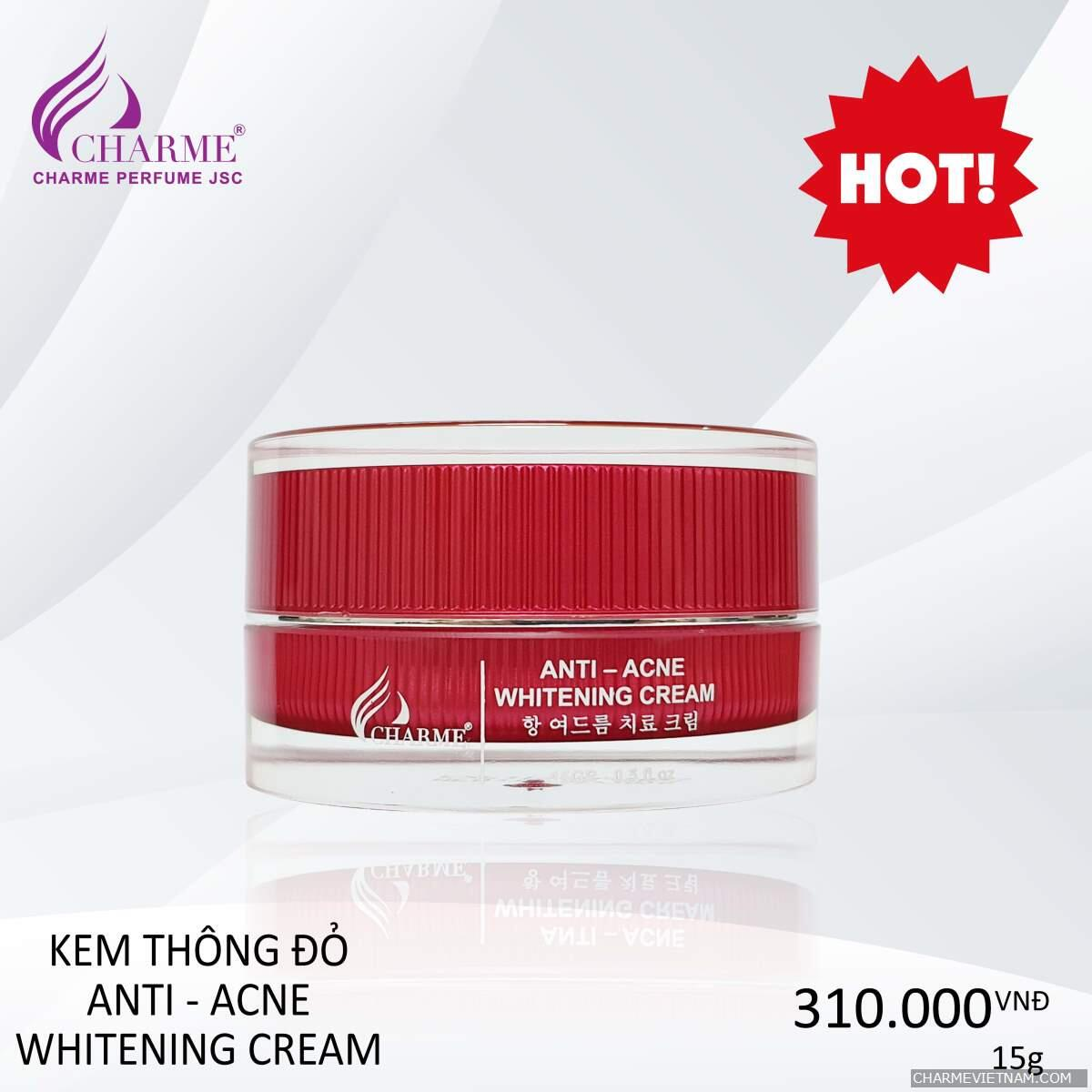 KEM MỤN ANTI - ACNE CHARME 30G