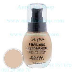 Kem nền L.A Girl® Perfecting Liquid MakeUp Oil-Free Vit C&E - 0902966670 - 0933555070