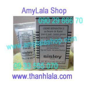 Kem phục hồi trắng da Sisley Restorative Facial Cream Day Night 5ml - 0902966670 - 0933555070