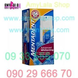 Kem trắng răng 7 ngày Arm & Hammer Mentadent Anticavity Fluoride Advanced Whitening - 0933555070 -