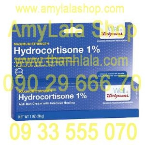 Kem trị dị ứng, phát bang Maximum Strength Hydrocortisone 1% Vitamin A,C&E - 0933555070 - 0902966670