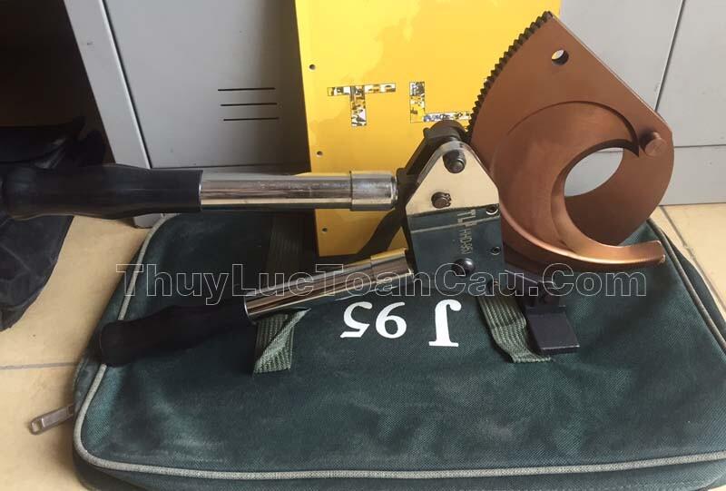 Kìm cắt cáp điện HHD-95J dùng cắt cáp CU và Al 95mm - Ảnh chi tiết sản phẩm