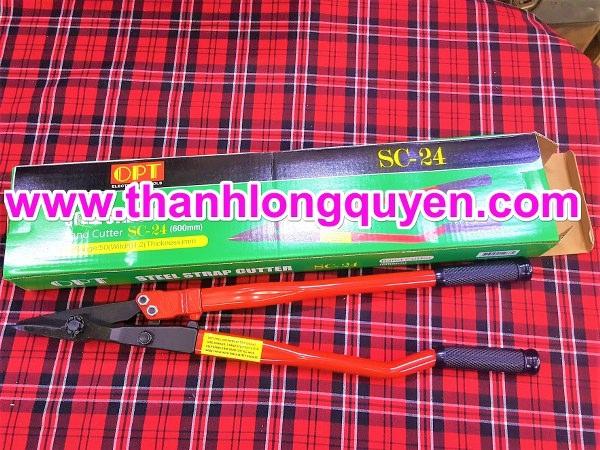 kéo cắt đai thép opt sc-24 cắt thép dày 1.2mm