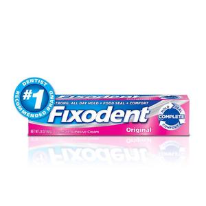 Keo dán hàm răng giả Fixodent