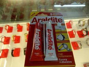 Keo dán kính , chống nước cho đồng hồ Araldite