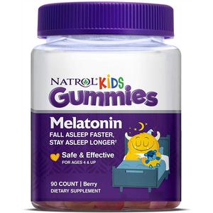 Kẹo ngủ ngon cho bé Natrol Kids Melatonin Gummies