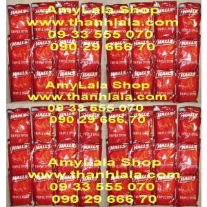 Kẹo trị ho Cough Drops Halls® Defense Mentho Lyptus - 0933555070 - 0902966670 :