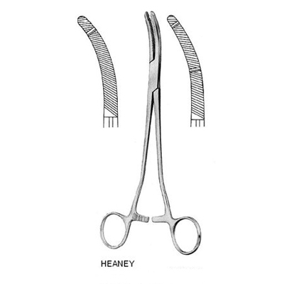 Kẹp Heaney sản khoa 23 cm