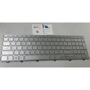bàn phím laptop Dell inspiron 15 7537 ( Bạc )