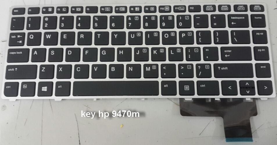bàn phím laptop hp folio 9480m