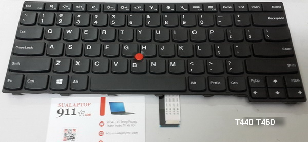 bàn phím laptop lenovo thinkpad T440 T440P T440S