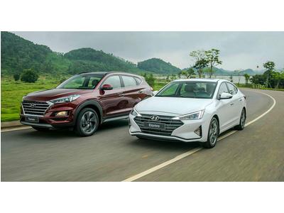 Khám phá bộ đôi Hyundai Tucson và Elantra 2019 vừa ra mắt