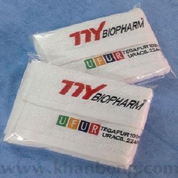 Khăn quà tặng thể thao thêu logo thương hiệu