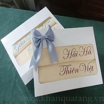 Khăn quà tặng sự kiện đám cưới