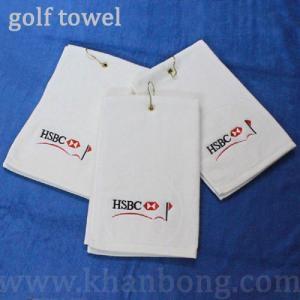 Khăn Lau Golf Xén Nhung, Đóng Khoen