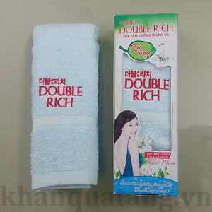 Khăn quà tặng kèm sản phẩm Double Rich