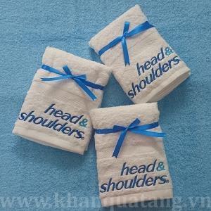 Khăn quà tặng kèm sản phẩm Head & Shoulder