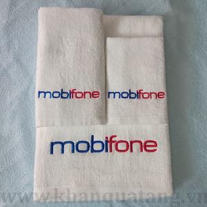 Khăn quà tặng sự kiện tri ân khách hàng Mobifone