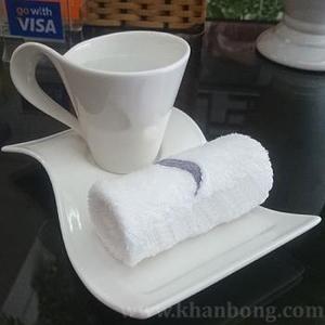 Hotel Hand Towel – Economy 25x25 22g White